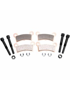 brake pad Rear Sintered: for 09-13 FLHTCUTG 10-11 FLHXXX Tri-Glide