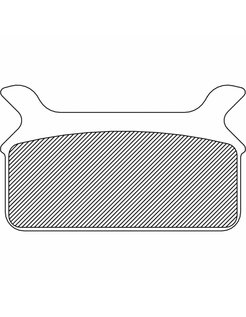brake pad Rear Sintered: for 86-99 FLT/FLHT/FLHS/FLHR/FLTR