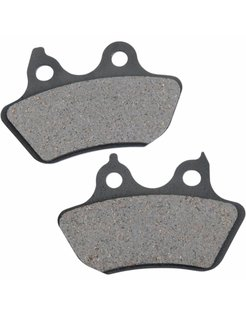brake pad Rear organic: for 06-07 FXSTB/C 07 FLSTF