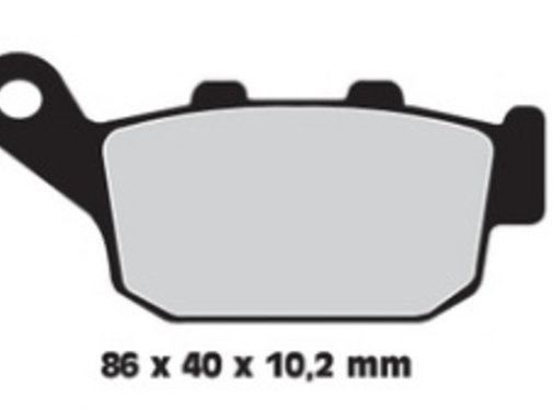 brake pad Rear Sintered: for 98-02 All (except Blast) 02-09 XB9/XB12 (all)