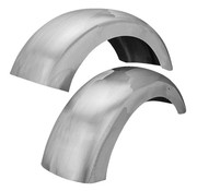 Cruisespeed fender rear ground pounder steel with round cut sides
