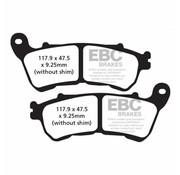 brake pad Rear Semi-Sintered : Fits:> 14-17 XL 883/1200 All Sportster XL