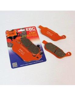 brake pad Rear Semi-Sintered : Fits:> 14-15 XG 500/750 Street