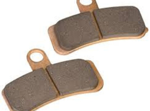 brake pad Front Semi-Sintered: Fits:> 08-14 All Softail (except Springer) 17 FXDLS Low Rider S or 08-17 All Dyna