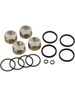 caliper rebuild kit Fits:> Front/​Rear 00‐07 Big Twin and XL Sportster (4‐piston); replace  44313‐00, 44313‐01