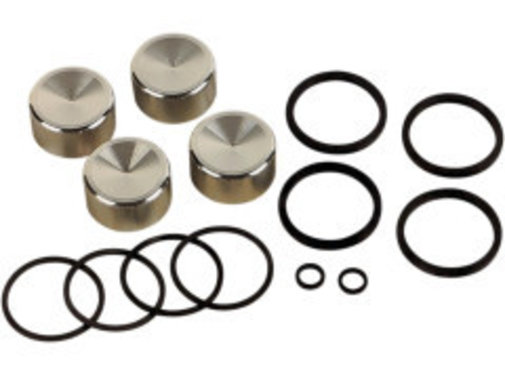 Drag Spec. caliper rebuild kit Fits:> Front/​Rear 00‐07 Big Twin and XL Sportster (4‐piston); replace  44313‐00, 44313‐01