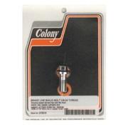 Colony brake Banjo bolts - Chrome 3/8 * 24