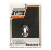 Colony Hohlschrauben - Chrom, 12mm * 1.5