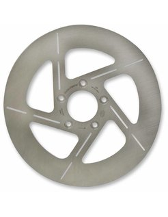 Tulsa stainless steel rotor, Fits:> Touring 00‐07 FLHR/FLHT/FLTR, Dyna 00‐06 FXDL/I, FXDS, FXDX/I