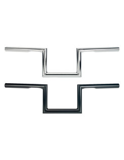 ZED Lenker 1 Zoll mit Grübchen schwarz oder chrom