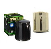 Hiflo-Filtro Oil filter High flow - Black or Chrome Fits:> 84-90 FLT 84-94 FXR 84-99 Softail 86-17 XL 09-12 XR 1200