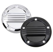 Wyatt Gatling Engine  Air Flow Ignition System Cover Black or Chrome Fits:> Twincam engines