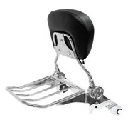 seat  Quick detachable backrest and rackbackrest and rack for 14-17 FLHRC/​FLHR/​FLHX/​FLTR