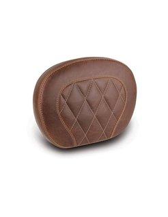 sissybar pad Diamond Stitch Setback brown