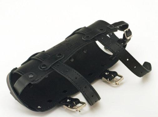 Texas leather Schwarzes Texas Ledergetränk kann nur halten