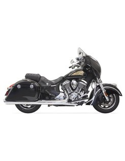 Mufflers Chrom - Indian Chief mit Taschen