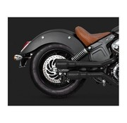 Vance and Hines Hi-Output Grenades Slip-Ons Mufflers Black - Indian Scout