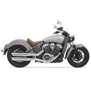 Bassani Mufflers 3 Zoll  Chrome für Indian Scout 2015-2016