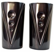 Trask V-Line Fork Tube Covers noir (Indian)  Chief / Chieftain 2012-up