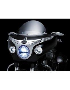 Lünette Fahrlicht Indian chieftain Motorrad
