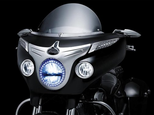 Kuryakyn bezel driving light Indian chieftain motorcycle