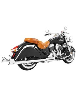 Sharktail true Dual Exhaust System  for Indian Classic  Vintage  Dark Horse