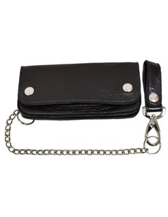 heavy leather - black