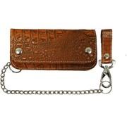 La Rosa Accessories heavy leather - alligator brown