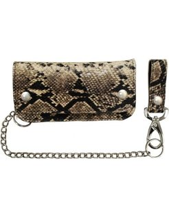 heavy leather - snake skin