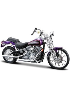 Model motor 2001 FXSTS Softail Springer 1:18