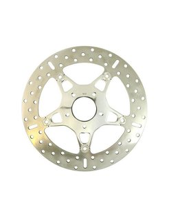 Front Left and right Brake rotor  300mm (11.8inch)- Fits: 08‑17 FLHT, FLHR, FLHX, FLTR, H‑D FL trike, 14‑17 FLHRC include some Dyna and Softail models