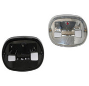 Cust. Dyn. taillight  base - Fits:> most 99-17 Softail Dyna FLT/ Touring FLH/FLT XL