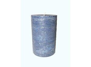 Kaars Maximus Rustique Dark Blue Ø 10x16 cm