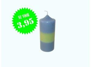 Sierkaars Blue & Green Ø 7x16 cm