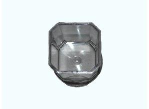 Kaarsenmal Vierkant afgeronde hoek 48 mm x 80 mm - Kaarsen benodigdheden