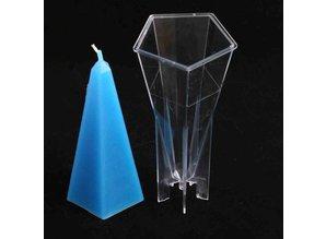 Kaarsenmal Obelisk 76 x 174 mm - Zelf kaarsen maken