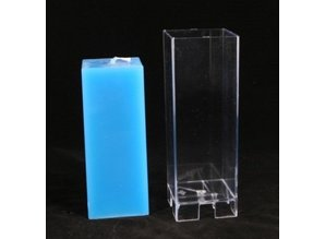 Kaarsenmal Vierkant 6x6x16 cm - Kaarsengieten