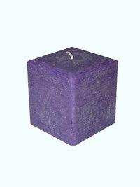 Vierkante Kaarsen op ambachtelijke gemaakt