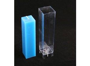 Kaarsenmal Vierkant 5x5x22 cm - Kaarsen malen