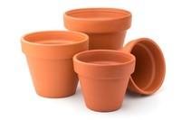Terracotta potten - Buitenkaarsen maken