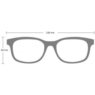 Monkeyglasses Monkeyglasses Dex 45s black