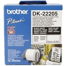Brother Brother DK-22205 Continue Lengte Tape: 62 mm - Thermisch papier - wit (30.48m)