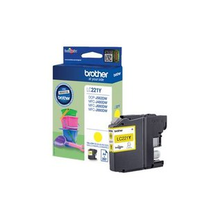 Brother Brother LC-221Y inktcartridge