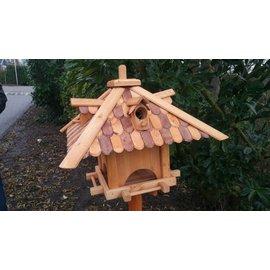 Vogel voederhuis Paviljoen - d.bruin-bruin
