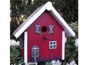 handgemaakte en handgeschilderde vogelhuizen vogelhaus. Black Bedroom Furniture Sets. Home Design Ideas