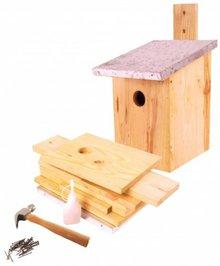 Nesting boxes for birds as a kit to buy bird houses cheap bird do it yourself construction birdhouses kit content shelves galvanized tin solutioingenieria Images