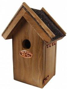 Goedkope antieke vogelhuisjes voor de Winterkoning