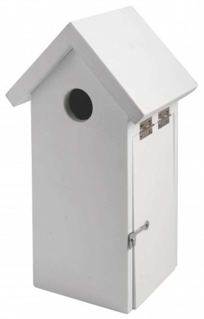 Birdhouses moderni comprare con tetto a capanna in colore for Comprare capanna scozzese