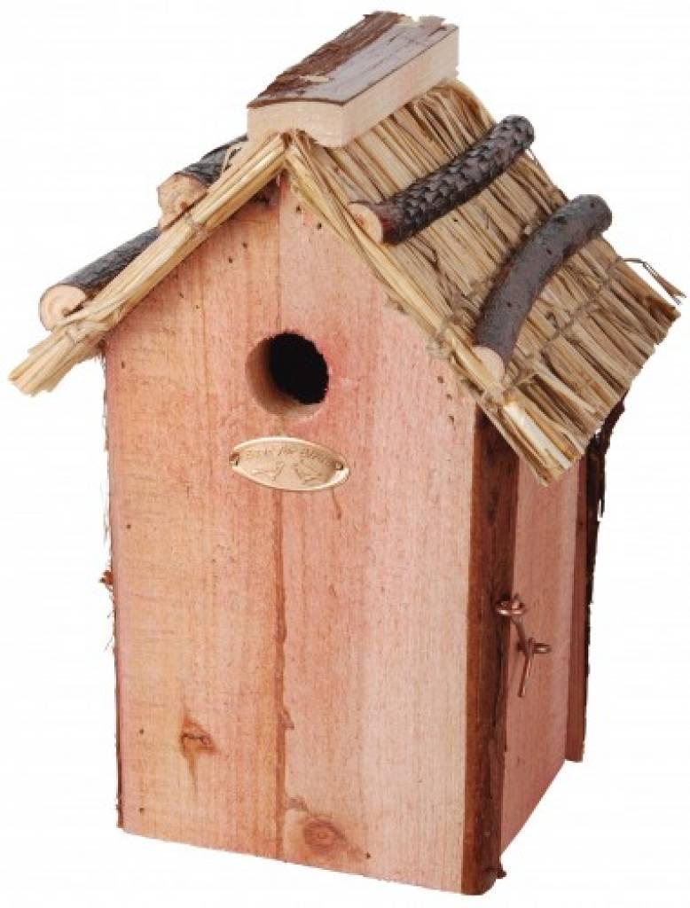 Birdhouses vimini a buon mercato per comprare blue tit for Grandi case a buon mercato