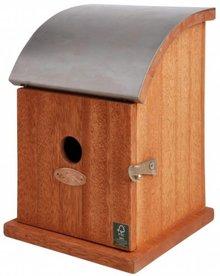 Vogelhuisje in hardhout (geschikt voor de koolmees)